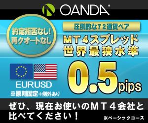 OANDA JAPAN 口座開設