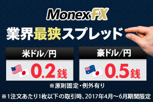 マネックスFX 通常口座開設
