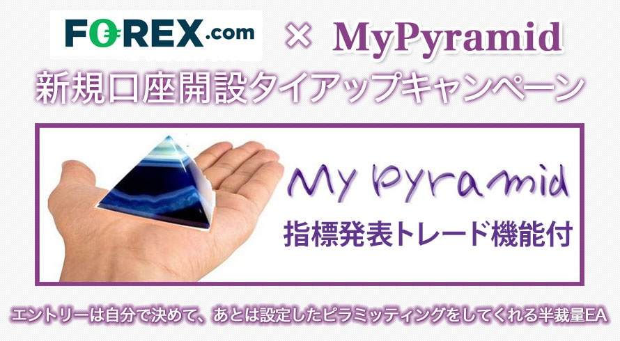 FOREX.com × MyPyramid トップ画像