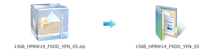 EA zip ファイル
