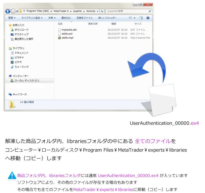 \Program Files\MetaTrader\experts\libraries