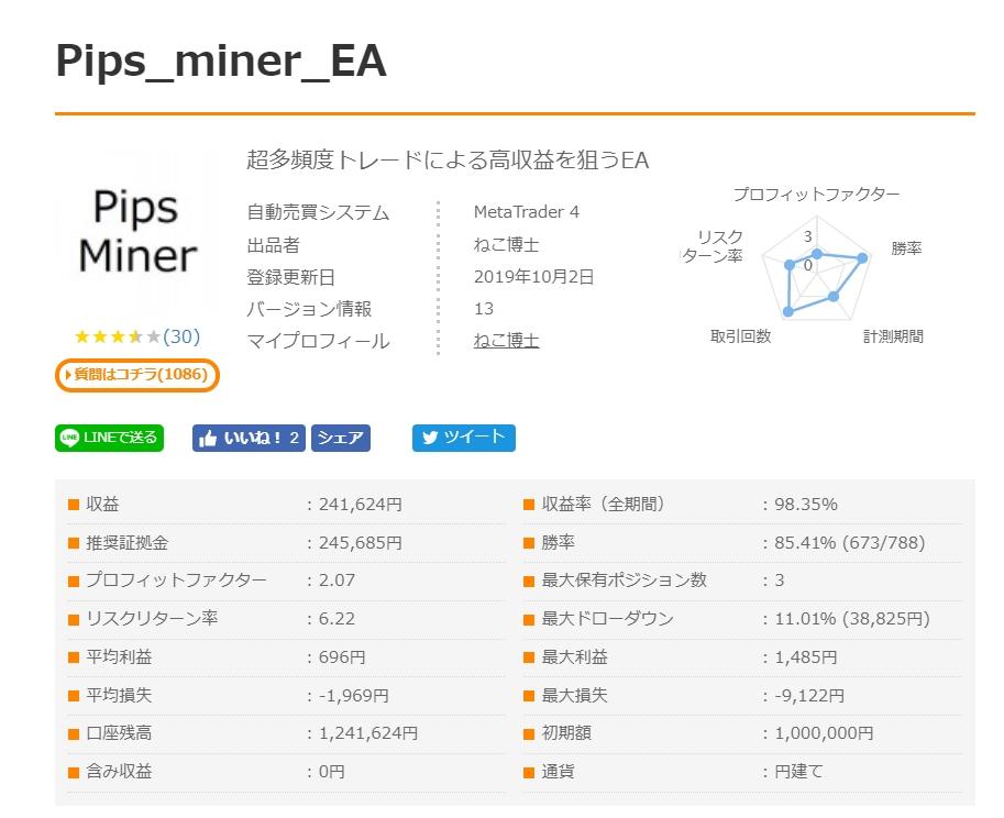 Pips_Minerフォワード画像